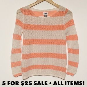 Old Navy Striped Beach Sweater
